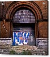 Now Graffiti Acrylic Print