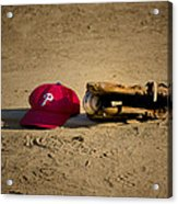 Now Pitching For The Phillies Acrylic Print