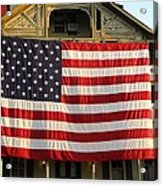 Now This Is A Flag Acrylic Print