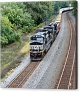 Ns 9629 Lead Intermodal Acrylic Print