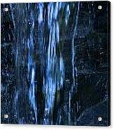Nu Blue Acrylic Print