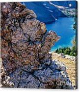 Nub Ridge Acrylic Print