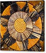 Nubian Basket Acrylic Print