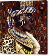 Nubian Prince Acrylic Print