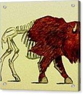 Nuclear Buffalo Acrylic Print