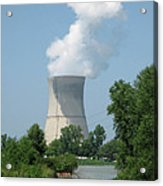 Nuclear Energy And Environment Acrylic Print