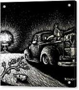 Nuclear Truck Acrylic Print