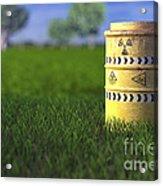 Nuclear Waste Acrylic Print