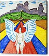 Nude Angel Road Acrylic Print
