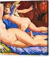 Nude Art Painting Acrylic Print
