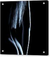 Nude Backside And Hair Acrylic Print