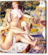 Nude Bathers Acrylic Print