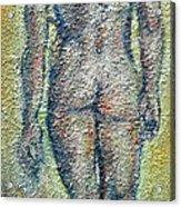 Nude Brunet Acrylic Print