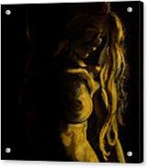 Nude - Chiaroscuro Acrylic Print