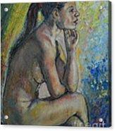 Nude Eva 2 Acrylic Print
