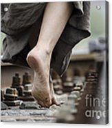Nude Feet Acrylic Print