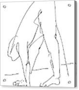 Nude Male Drawings 32 Acrylic Print