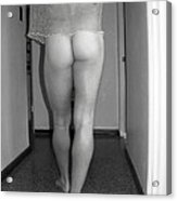 Nude Male Walking Acrylic Print