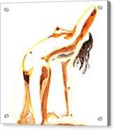 Nude Model Gesture IIi Acrylic Print