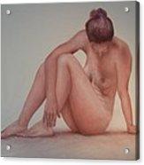 Nude Model Study Acrylic Print