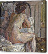 Nude On A Bed, C.1914 Acrylic Print