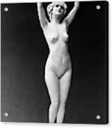 Nude Posing, 1921 Acrylic Print
