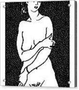 Nude Sketch 2 Acrylic Print