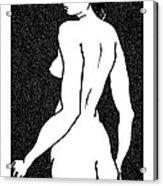 Nude Sketch 6 Acrylic Print
