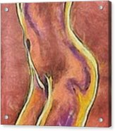 Nude Vi Acrylic Print