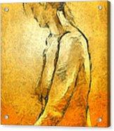 Nude Viii Acrylic Print