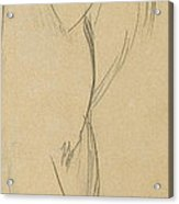 Nude Woman Acrylic Print