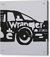 Number 3 Car Wrangler Acrylic Print