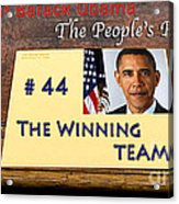 Number 44 - The Winning Team Acrylic Print