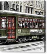 Number 965 Trolley Acrylic Print
