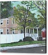 Number One Main Street Acrylic Print