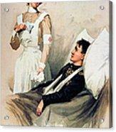 Nurse: Calendar, 1899 Acrylic Print