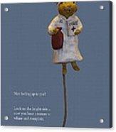Nurse Mouse Acrylic Print