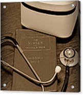 Nurse - The Care Giver Acrylic Print