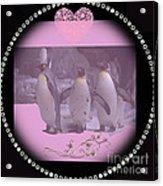 Nursery And Childrens Series Penguins Acrylic Print