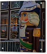 Nutcracker Statue In Downtown Grants Pass Acrylic Print