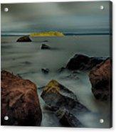 Nuttall Island Last Sunlight Acrylic Print