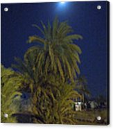 Nuweiba By Night Sinai Egypt Acrylic Print