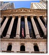 Ny Stock Exchange Acrylic Print
