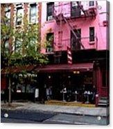 Ny Streets - Cafe Borgia II Soho Acrylic Print