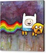 Nyan Time Acrylic Print