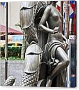 Nyc - Manhattan - Rockefeller Center - First Human Maiden Made F Acrylic Print