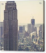 Nyc - Empire State Building Acrylic Print