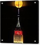 Nyc Moonstruck For World Cup Acrylic Print
