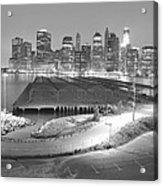 Nyc New York/ Manhatten  Acrylic Print