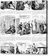 Nyc Police, 1859 Acrylic Print